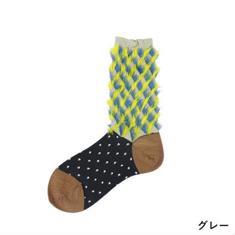 COQ-rabbit-ears-fur-socksグレー1